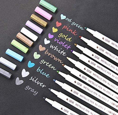 Cloud-Baby Metallic Pens Marker (723610554595)