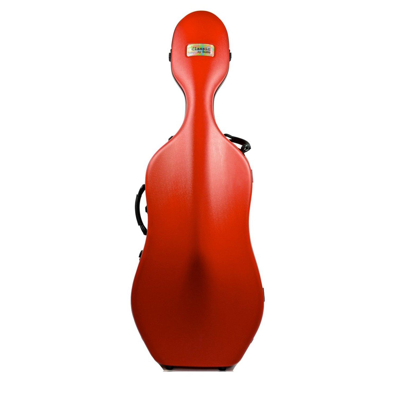 Bam Classic funda para violonchelo 4/4, color rojo: Amazon.es: Instrumentos musicales