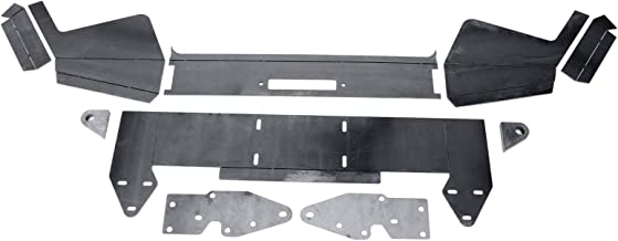 DIY Front Bumper Bare Metal Kit Winch Mount Plate For 1984-2001 Jeep Cherokee XJ