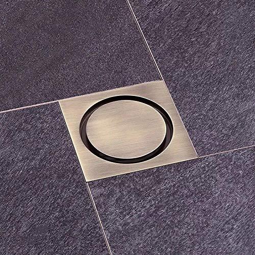 Feixunfan Bodenablauf Bad Bodenablauf Deckelkern WC Kanalisation Waschmaschine Küche Badezimmer Mit Großem Hubraum für Badezimmer Duschraum Toilette (Color : C, Size : ONE Size)