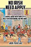 No Irish Need Apply: A Novel About New York City's Hell's Kitchen in the Mid-1800's