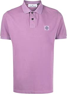 Stone Island Luxury Fashion Mens 721522S67V0086 Purple Polo Shirt | Spring Summer 20