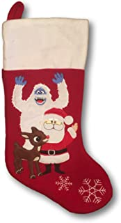 Rudolph the Red Nosed Reindeer Fleece Stocking 18