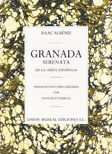 ALBENIZ - Granada Op.47 nº 1 para Guitarra (Tarrega)