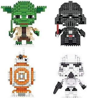 Flytoo Star Wars Nano Mini Building Blocks Kits Enfant Éducatif 3D Puzzle DIY Modèle Brique Jouet Cadeaux Adapté pour Coll...