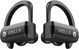 Wireless Earbuds, Vislla 5.0 Bluetooth Sport Headphones Stereo Bass Sound TWS Ear Buds Over Ear Sweatproof Headset 8 Hours...