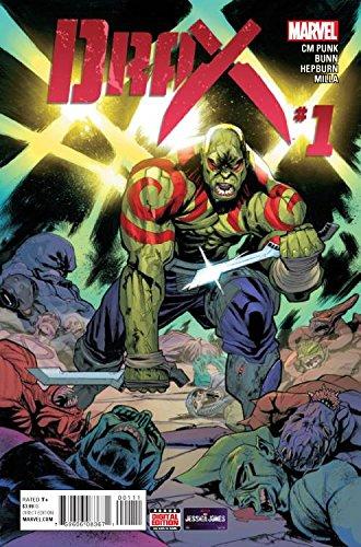 Drax #1 (Main Cover A) Written my CM Punk