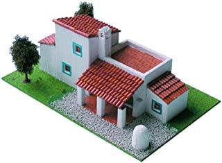 CUIT Ceramic Building Construction Kit, Traditional Ibiza House (1:87)