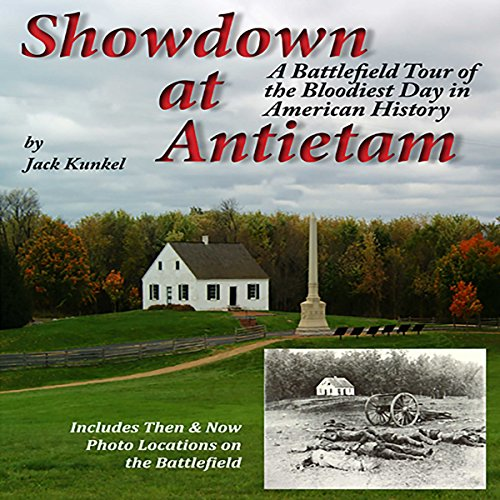 Showdown at Antietam audiobook cover art
