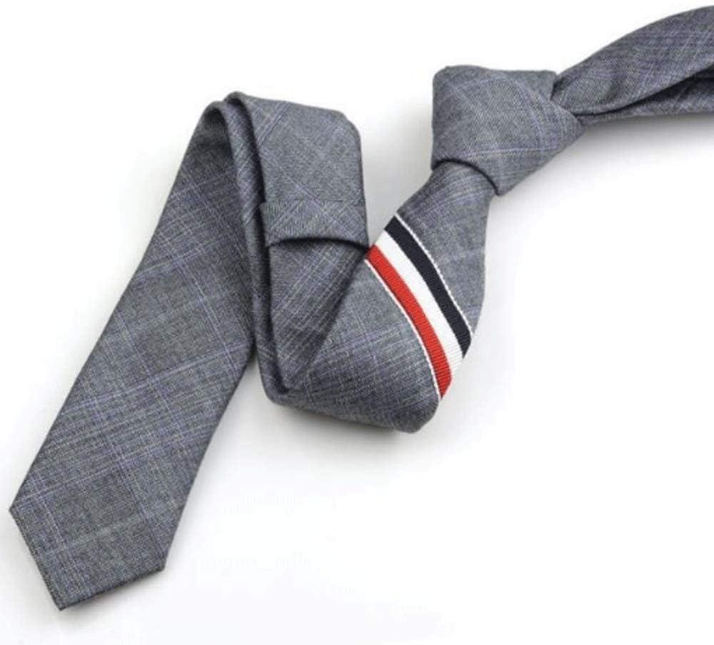 WPYYI Tie - Tie Woven Classic Men's Necktie & Pocket Square Set Boys Elasticated Tie Boys Bronze Tie & Pocket Square
