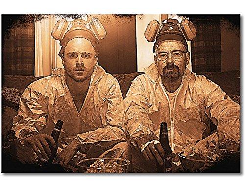 WandbilderXXL ® Impression sur toile « Breaking Bad » 60 x 40 cm - 6 tailles différentes - Impression sur toile tendue sur châssis.