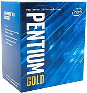 Intel® Pentium Gold G-6400 Desktop Processor 2 Cores 4.0 GHz LGA1200 (Intel® 400 Series chipset) 58W