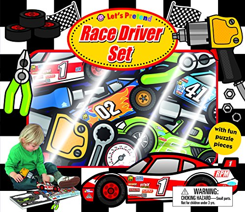 Let's Pretend Race Driver Set: With Book and Press-Out Pieces
