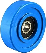 uxcell 8x45x14mm Roller Idler Bearing Pulley Sliding Conveyor Wheel Blue