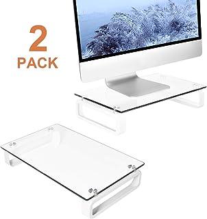 Deux Support de Moniteur d'ordinateur Portable écran de télévision Riser HD02T-201P