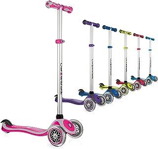 Globber Primo 3 Wheel Adjustable Height Scooter (Renewed)
