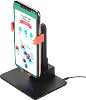FUNTECK Adjustable Phone Swing Device Perfect for Hatching Eggs or Buddy Candy in Pokemon Go, Compatible with iOS and Android