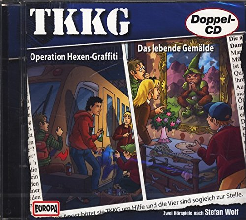 TKKG - Operation Hexen-Graffiti (164) und Das lebende Gemälde (171) DOPPEL-CD