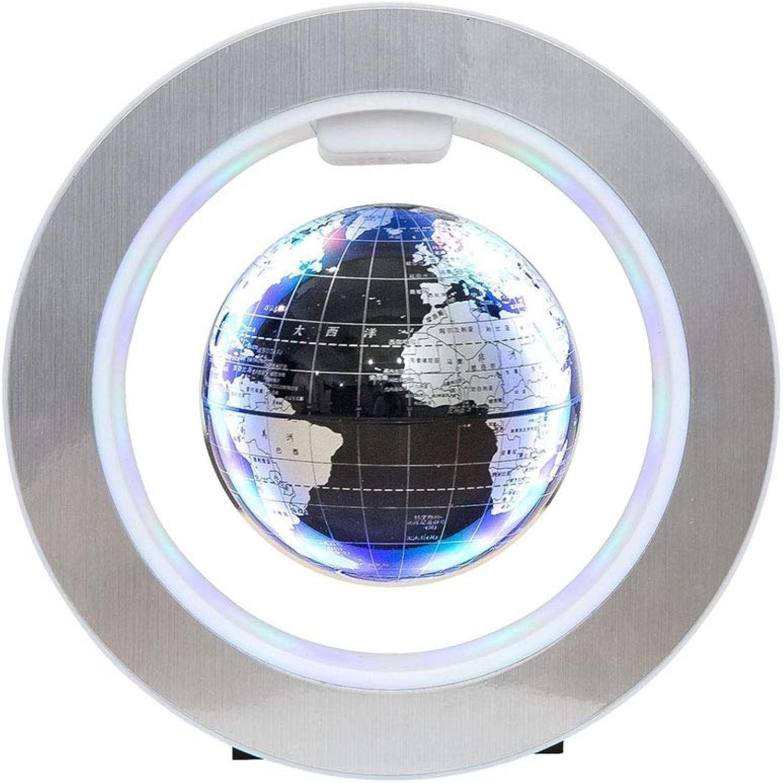 O-Form Magnetschwebetechnik Weltkarte, Drehen und schweben Maglev Globe mit LED-Licht für Weihnachtsgeschenke und Hausdekoration B07PDY1DZ1 | Grüne, neue Technologie