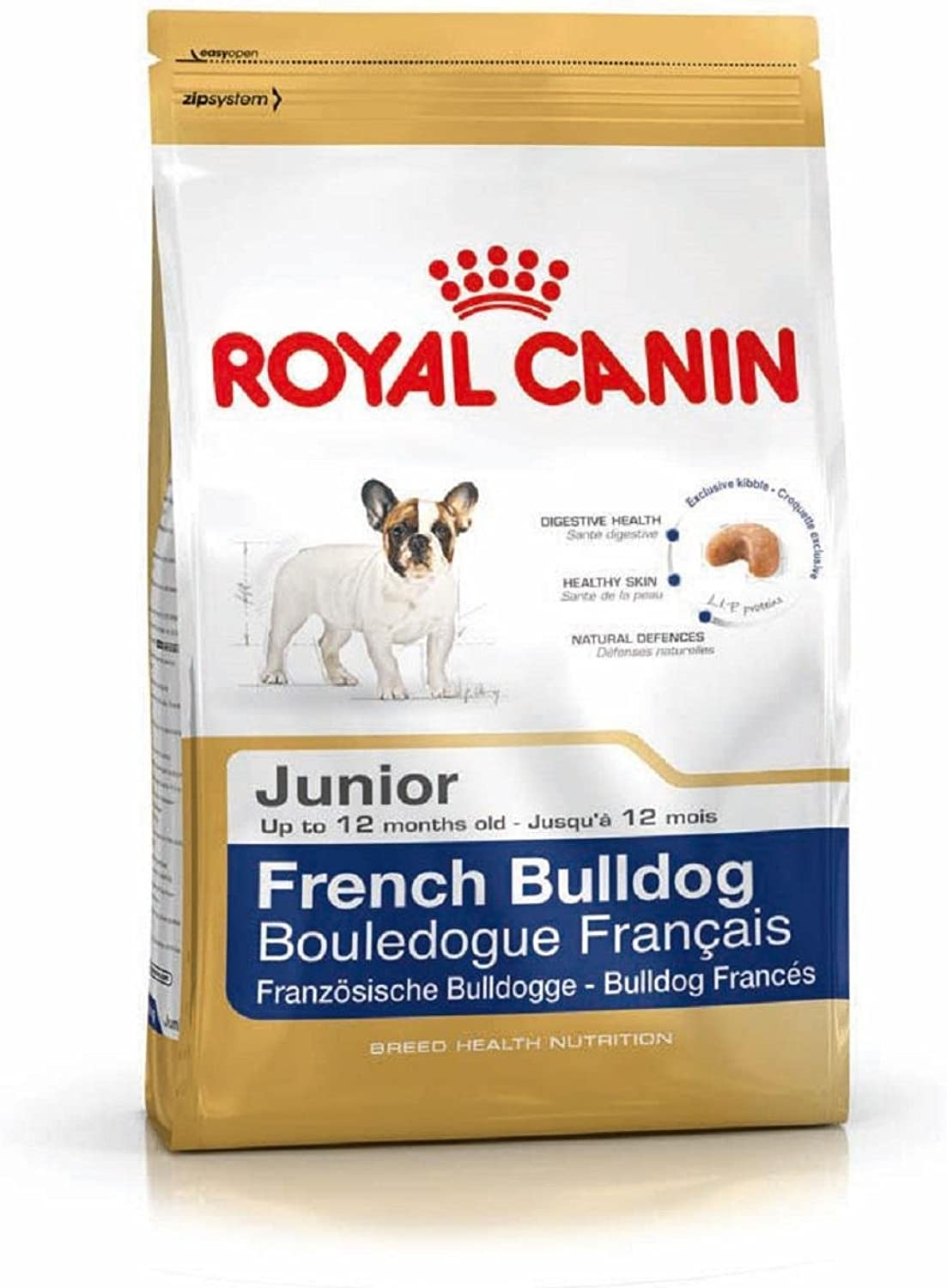 10KG ROYAL CANIN FRENCH BULLDOG JUNIOR DOG FOOD SUPPLIED BY MALTBY'S STORES