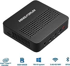$399 » Upgraded Mini PC Intel Core i3-8145U Processor(up to 3.90 GHz) DDR4 8GB 256GB SSD Windows 10 Pro 4K@60Hz with USB-C/HDMI 2.0 / Mini DP Port,4xUSB Port 2.4/5.8G WiFi BT5.0
