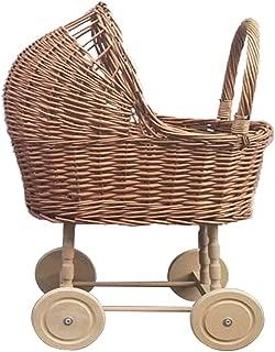 Zxllyntop Andador Rattan Vintage Baby Walker Balance bebé Juguete ...