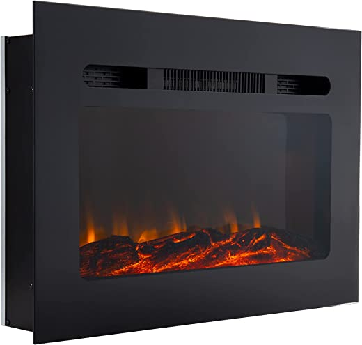 """RecPro RV Fireplace 26"""" 