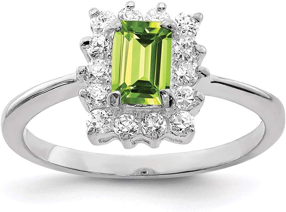 Ryan Animer and price revision Jonathan Fine Jewelry Sterling Silver Peridot Popular brand Zir and Cubic