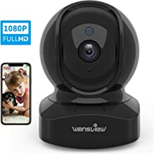 Wansview Wireless Security Camera, IP Camera 1080P HD, WiFi Home Indoor Camera for..