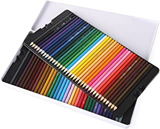 72 Colored Pencils - Vibrant Colors Pre-Sharpened Colored Pencils Set for Adult Coloring Books Artist Drawing Sketching Cr...