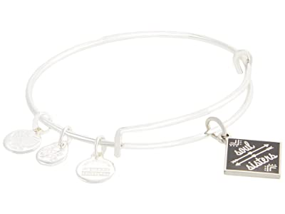 Alex and Ani Color Infusion Soul Sisters Bangle Bracelet (Shiny Silver) Bracelet