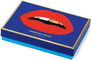 Jonathan Adler Lips Boxed Diecut Notecard Set