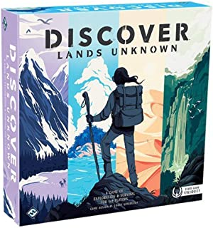 Discover - Lands Unknown Board Game Board Game