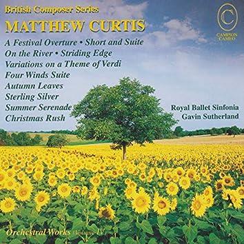 Matthew Curtis Orchestral Works, Vol. IV