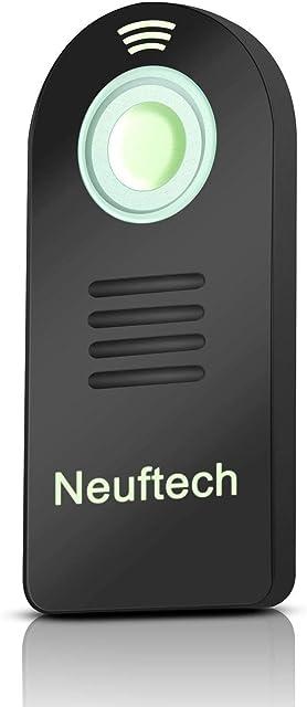 Neuftech mando inalámbrico IR control remoto mini para cámaras Nikon D3300 / D3200/ D5300/ D5100/ D5000/ D610/ D90/D80/ D7000/ D7100/ D70/ D600/ D60/ D50/ coolpix 8800/ Film SLR F75 / F65 etc