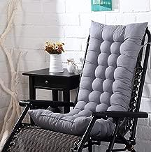 BASMPP Cushion Recliner Cushions Garden Furniture Cushions with Ties Quilted Design Rocking Chair Cushion Sofa Cushion Tatami Floor Mat Window Mat Seat Cushion Resists 5cm Thickness
