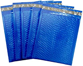 10 Pack Poly Bubble Mailers 6 x 9. Blue Padded envelopes 6x9. Glamour Bubble mailers Peel & Self Sealing Cushion Packaging mailers. Poly mailing Packing Wrapping Shipping envelopes.