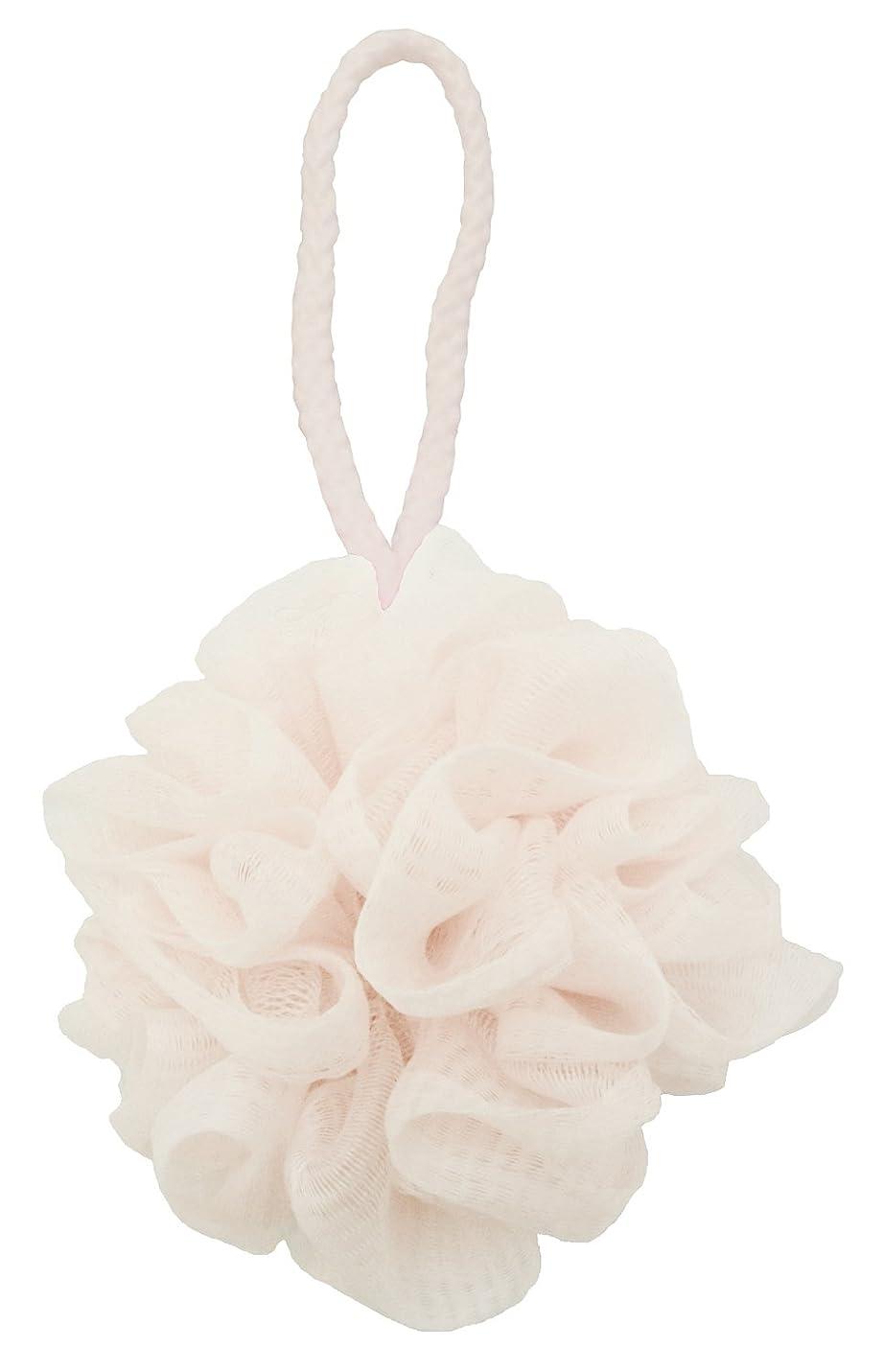 経済ウェイターパールセント?ローレ 泡立てネット 泡肌美人 ふわわん 花形 ホワイト SL262