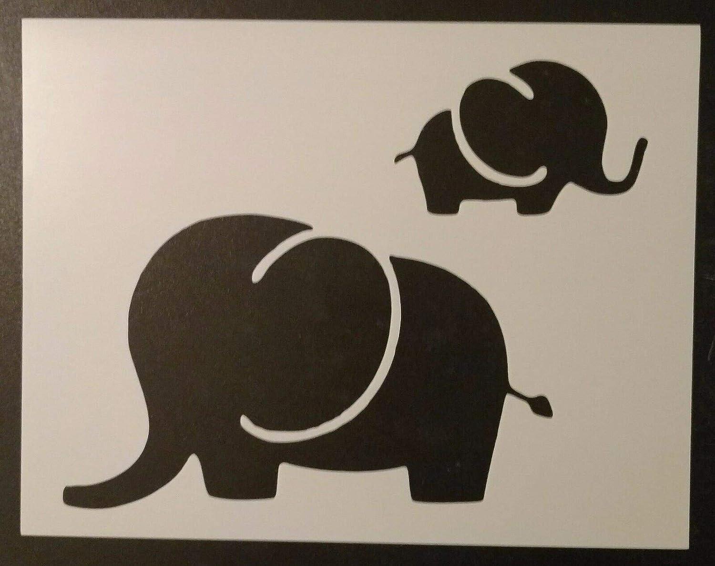 Rare Mom and Baby Elephant Elephants 11
