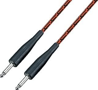 /color negro//rojo vino Ibanez si20-bw 20/ft 2/conectores recto est/ándar de Cable de instrumento/