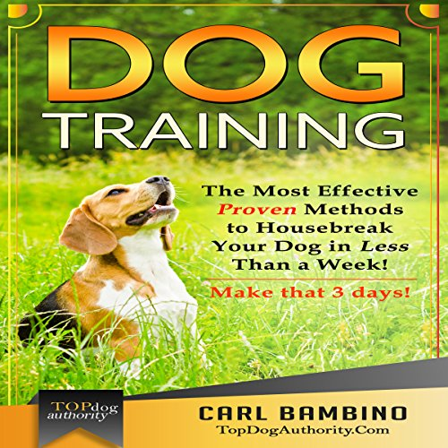 Dog Training audiobook cover art
