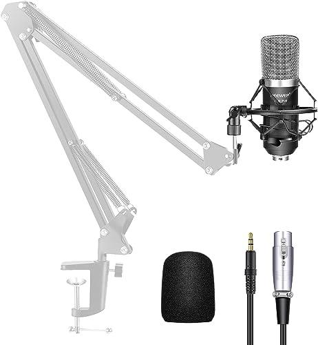 Neewer® NW-700Ensemble Micro à condensateur de diffusion et d'enregistrement pour Studio Professionn...