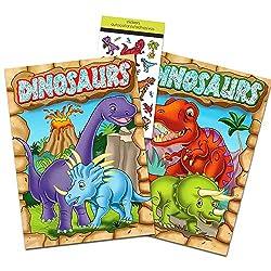 5. Dinosaur Party Supplies Dinosaur Coloring Book Super Set (2 books)