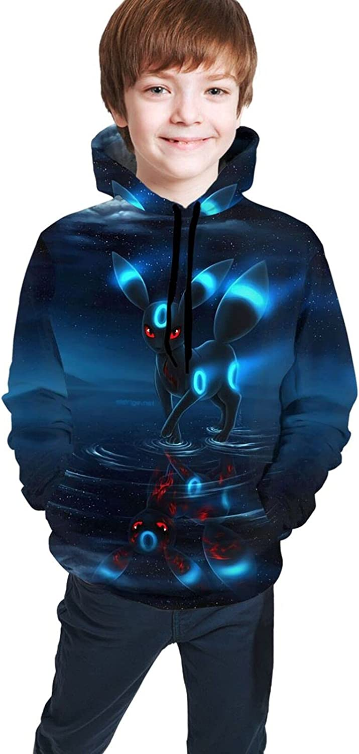 Umbreon Cartoon Youth Hoodie Choice Fashion Pullover Max 79% OFF Boys hooded