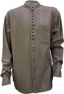 Irish Grandfather Collarless Shirt Castlerock