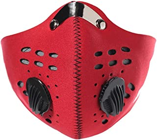 YuNo montaña Ciclismo máscara mascarilla antiniebla y bruma Filtro de carbón Activado