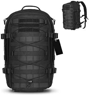 Mochila táctica al Aire Libre Paquete de Asalto Militar Ejército Molle Bug out Bag 1000D Mochila de Nylon Mochila Bolsa para Camping Senderismo
