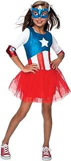 Rubie's Marvel Classic Child's American Dream Metallic Costume, Small