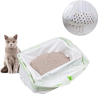 ZUKIBO Cat Litter Liners Filter Bag for Recycling Cat Litter Durable Pet Cat Supplies 7 Pcs Set