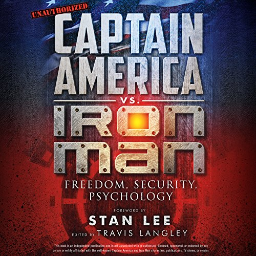 Captain America vs. Iron Man audiobook cover art